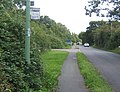 Union Road heading towards Stowmarket from Onehouse - geograph.org.uk - 957796.jpg