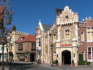 United Kingdom Pavilion at Epcot - Image: United Kingdom street at Epcot
