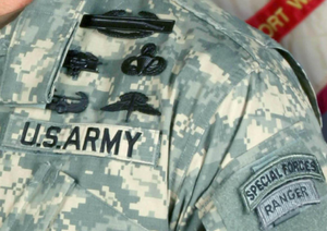 Badges of the United States Army - Combat and Special Skill Badges/Tabs worn on Army Combat Uniform.