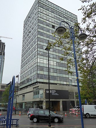 London College of Communication - Image: University of the Arts at the Elephant and Castle (geograph 4476299)