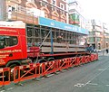 Unloading structural steel for The Rex development - geograph.org.uk - 576243.jpg