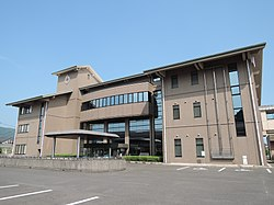 Ureshino city office (Ureshino, Saga, Japan) Aug. 2016.jpg