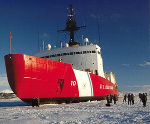 USCGC Polar Star (WAGB-10) - Image: Uscgc polar star