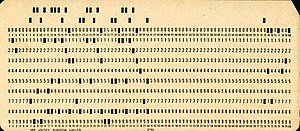 Punched card - Wikipedia