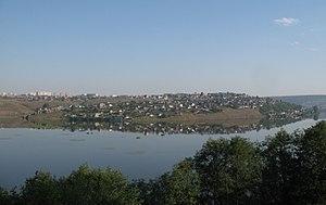 Ust-Katav - Ust-Katav from Katav pond