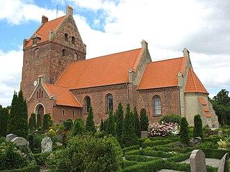 Væggerløse Church - Væggerløse Church, Falster