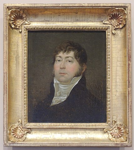 Портрет В.Л.Пушкина кисти неизвестного художника, 1810-е годы