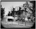 VIEW TO NORTHEAST - George P. Colt House, 628 1-2 East Sixth Street, Erie, Erie County, PA HABS PA,25-ERI,14-1.tif