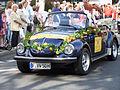 VW 1303 Cabrio Bernemer Kerb Festzug Beginn 13082011.JPG