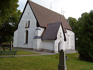 Västeråker Church - Västeråker Church, external view