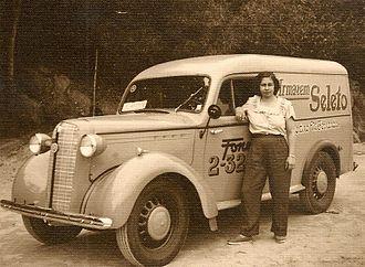 Bedford Vehicles - Bedford PC Van 1950
