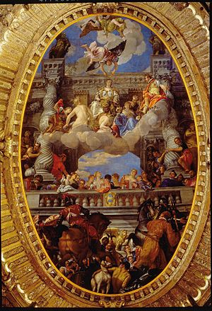 Apotheosis - Apotheose of Venezia (1585) by Paolo Veronese