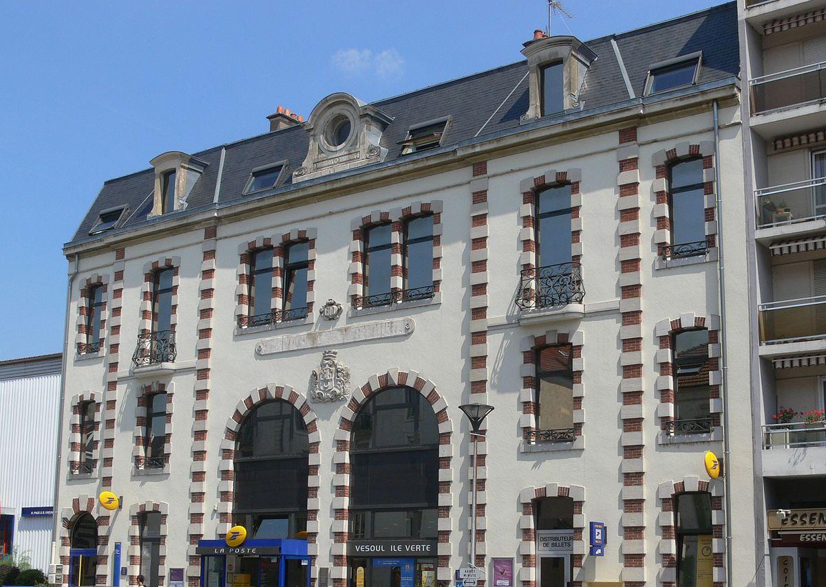 Gare des chemins de fer vicinaux de vesoul wikip dia - Bureau de poste gare de l est ...