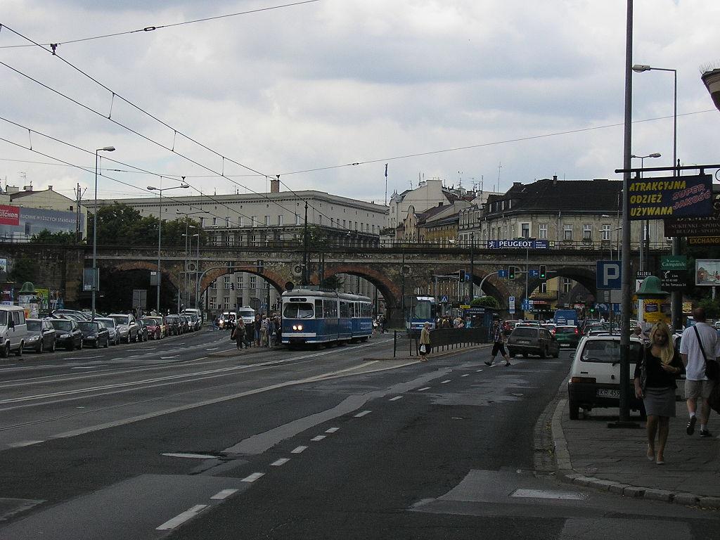 Viaduct in Grzegórzki 4