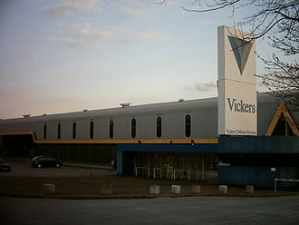 Vickers plc - The Vickers plant in Cross Gates, Leeds
