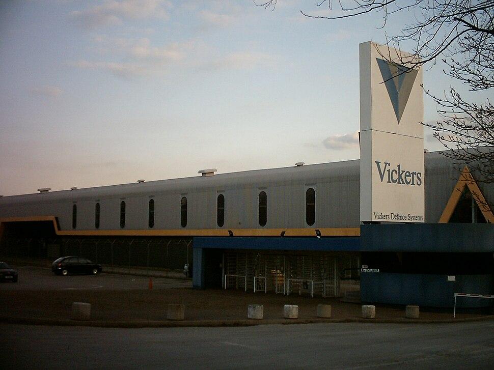 Vickers works in Leeds