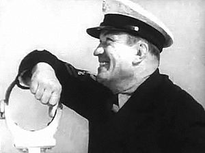 Victor McLaglen - in Sea Devils (1937)