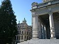 Victoria Legislature building from side - panoramio.jpg