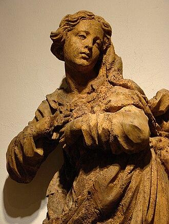 Jean-Baptiste Bouchardon - Image: Vierge de l'Assomption Jean Baptiste Bouchardon Chaumont 251108 2