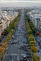 View from the Arc de Triomphe, 2009-1.jpg