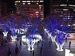 View in front of Hakata Station at night 20181115-2.jpg