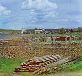 View of Podporozhe. Russian Empire.jpg