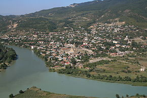View on Mtskheta from Jvari Monastery.JPG