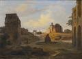 View towards Forum Romanum from the Colosseum (Thorald Laessoe) - Nationalmuseum - 20916.tif