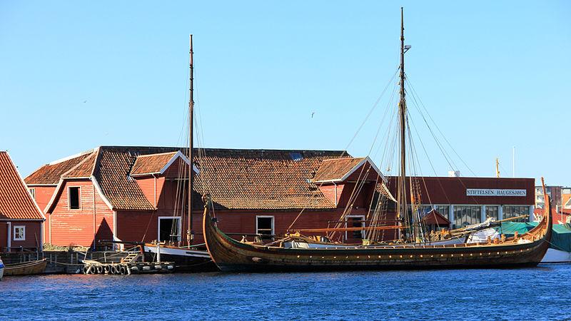File:Viking ship Haugesund.jpg