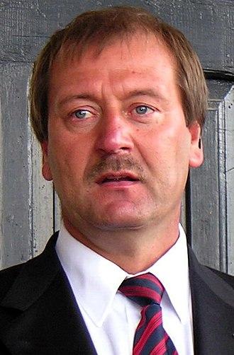 2012 Lithuanian parliamentary election - Image: Viktoras Uspaskichas.2008 07 08 (cropped)