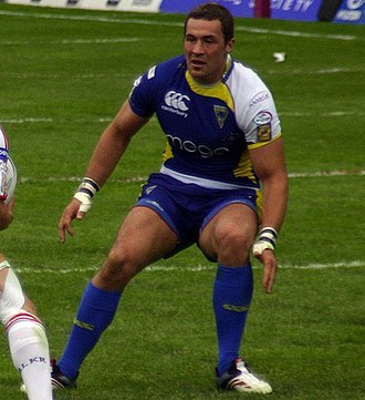 Vinnie Anderson - Anderson playing for Warrington