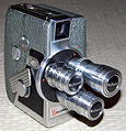 Vintage Wollensak 8mm Movie Camera, Model 53 (12103066903) (2).jpg