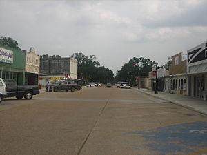Vinton, Louisiana - Downtown Vinton
