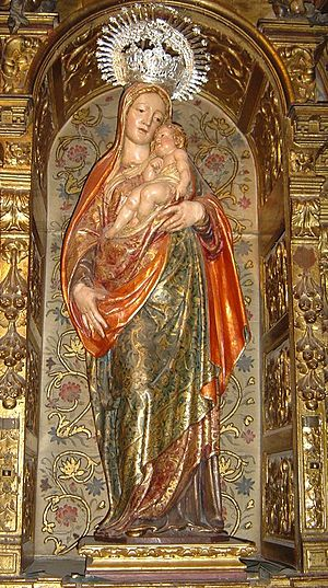 Juan Bautista Vázquez the Elder - Virgin of the Fevers, Church of Saint Mary Magdalene, Seville.