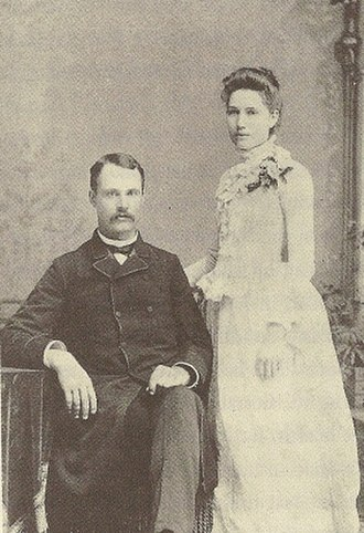 Harry Partch - Partch's parents, Virgil and Jennie (1888)