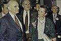 Visite de Mr Curien au SIA 1991-11-cliche Jean Weber.jpg
