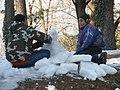 Visitors enjoying the snow in Murree.jpg