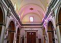 Vista cap als peus de l'església de sant Francesc de Paula, el Ràfol d'Almúnia.JPG