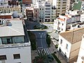 Vista del carrer Major desde el campanar.JPG