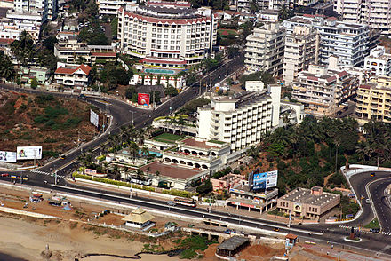 Visakhapatnam is an important commercial hub of the state Vizagcity.jpg