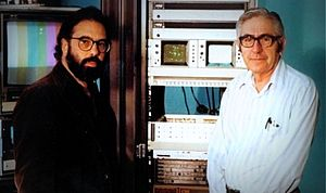 Petro Vlahos - Francis Ford Coppola and Vlahos (right)