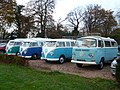 Volkswagen vans at Prestonfield House - geograph.org.uk - 1599980.jpg