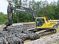 Volvo excavator Finland roadwork.jpg