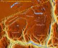 Vue des reliefs du Plateau Bonaparte.png