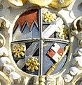 Würzburg Neumünster Fassadendetail Wappen Johann Philipp von Greiffenklau-Vollraths detail.jpg