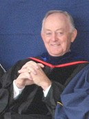 Photo of W. Rolfe Kerr at the April 2008 BYU Commencement