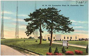 WWVA (AM) - Transmitter c.1940s