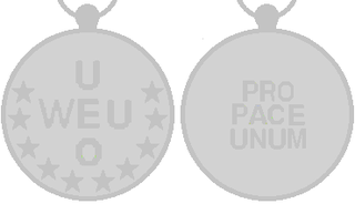 Western European Union Mission Service Medal