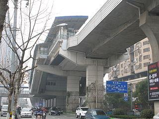 Dazhi Road station Wuhan Metro station
