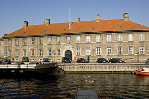 Royal Stables (Denmark) - The Crown Equerry Building by Frederiksholms Canal.